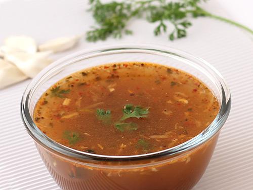 garlic-rasam